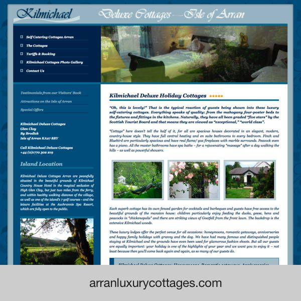 Kilmichael Deluxe Cottages