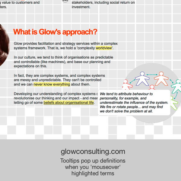 Glow Consulting - transformation
