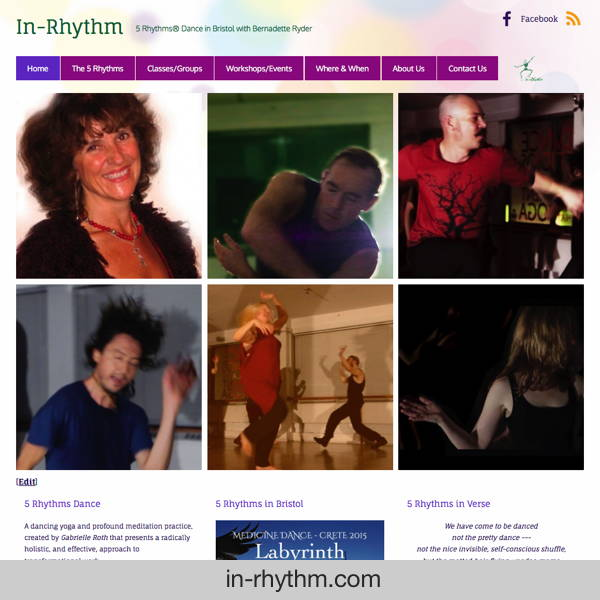 In-Rhythm - 5 Rhythms dance