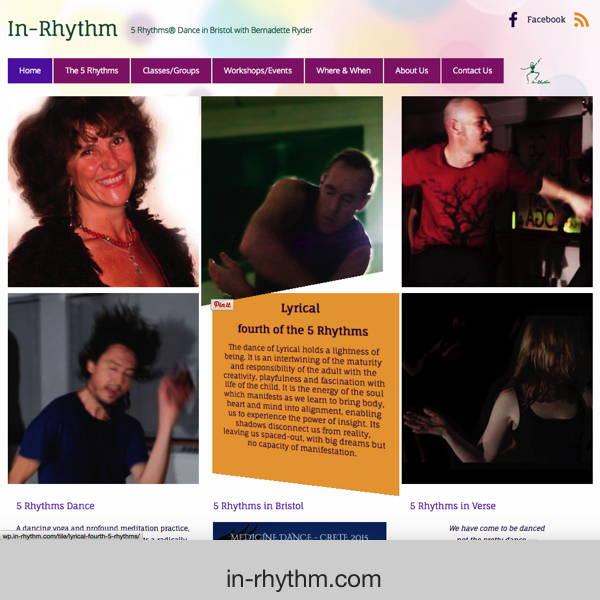 In-Rhythm - 5 Rhythms dance