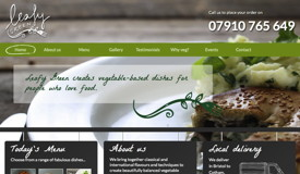 Leafy Green website