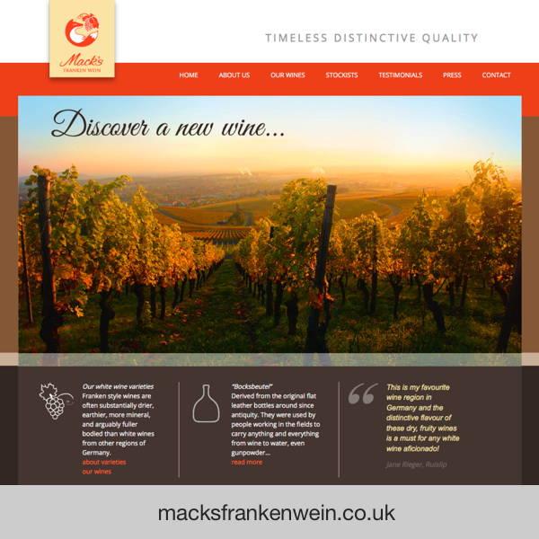 Mack's Frankenwein - wine imports