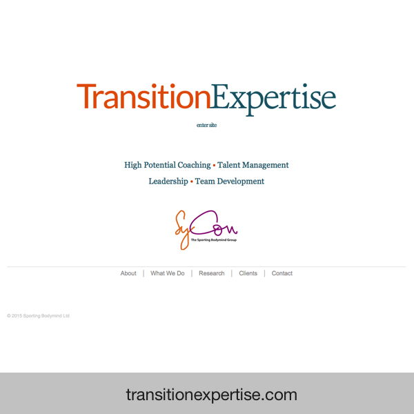 Transition Expertise - coaching