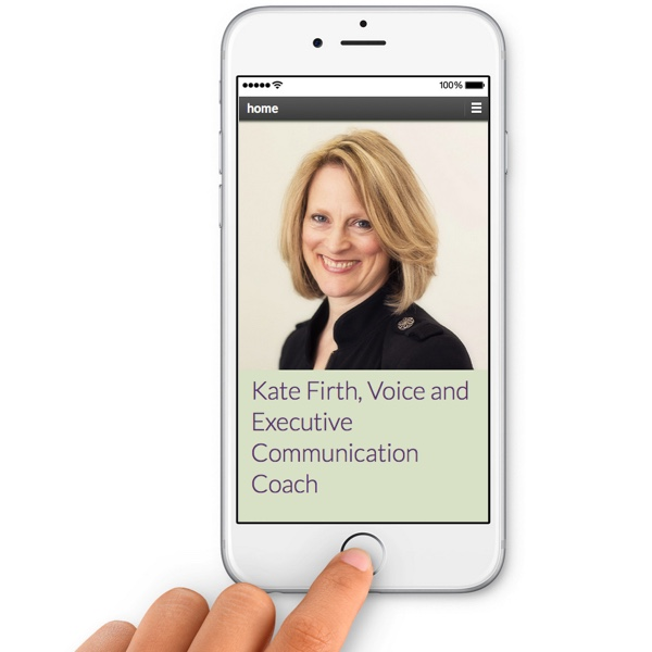 Kate Firth - voice coach
