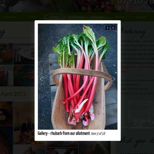 Miller Green - vegan food delivery